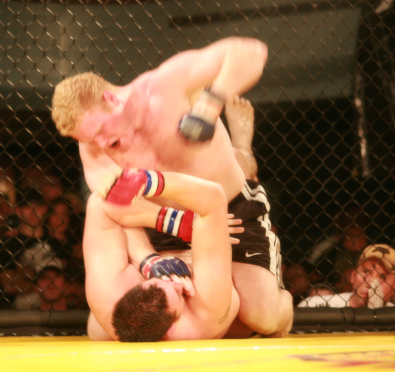 Ryan Cribba Punishes Jake Richmond at Rumble at The Roseland