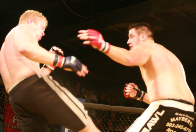 Ryan Cribba v Jake Richmond at Rumble at The Roseland