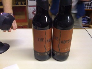 My 2 Bottles of The Abyss Beer