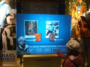 Columbia Sportswear's Interactive Display Window