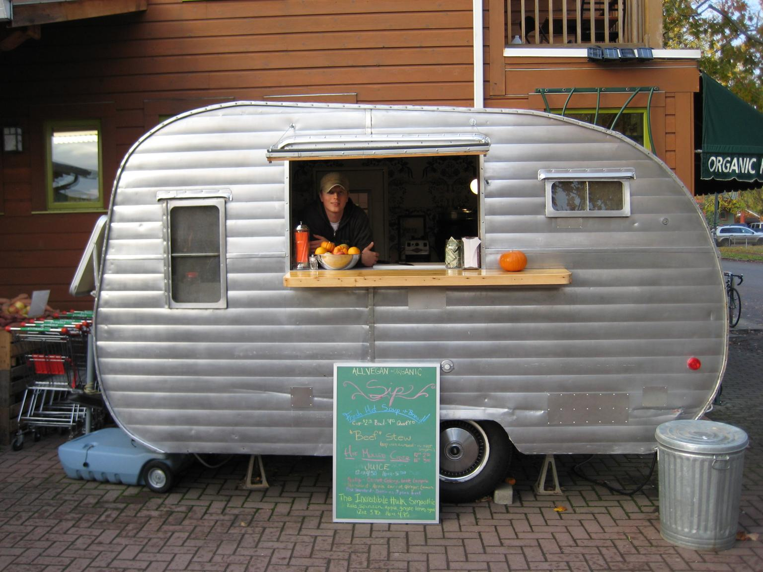 Sip One Of Portland S Best Food Carts On Portland