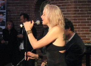 Storm Large Sings at The Selfless Afterparty