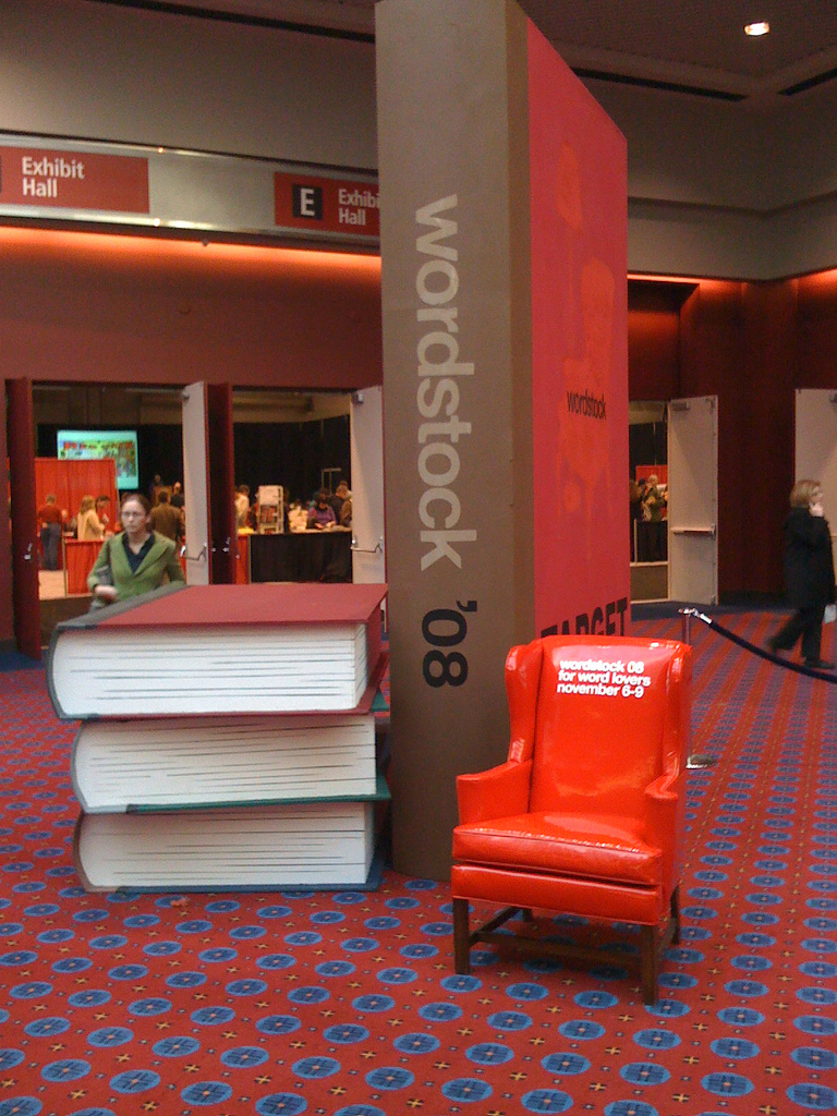 No Crowds at This Years Wordstock
