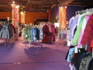 Columbia Sportswear at CHAP's Holiday Bizarre