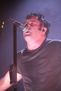 Trent Reznor at The Rose Garden in Portland (photo: David Lawrence)