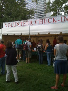 Volunteering at The Oregon Brewers Fest