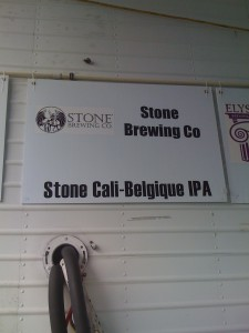 Stone Brewing Cali-Belgique IPA