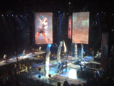 Miley Cyrus Tour Portland Spectacle
