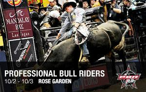 Professional Bull Riders in Portland