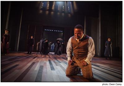 Gavin Gregory in Portland Center Stage's Ragtime