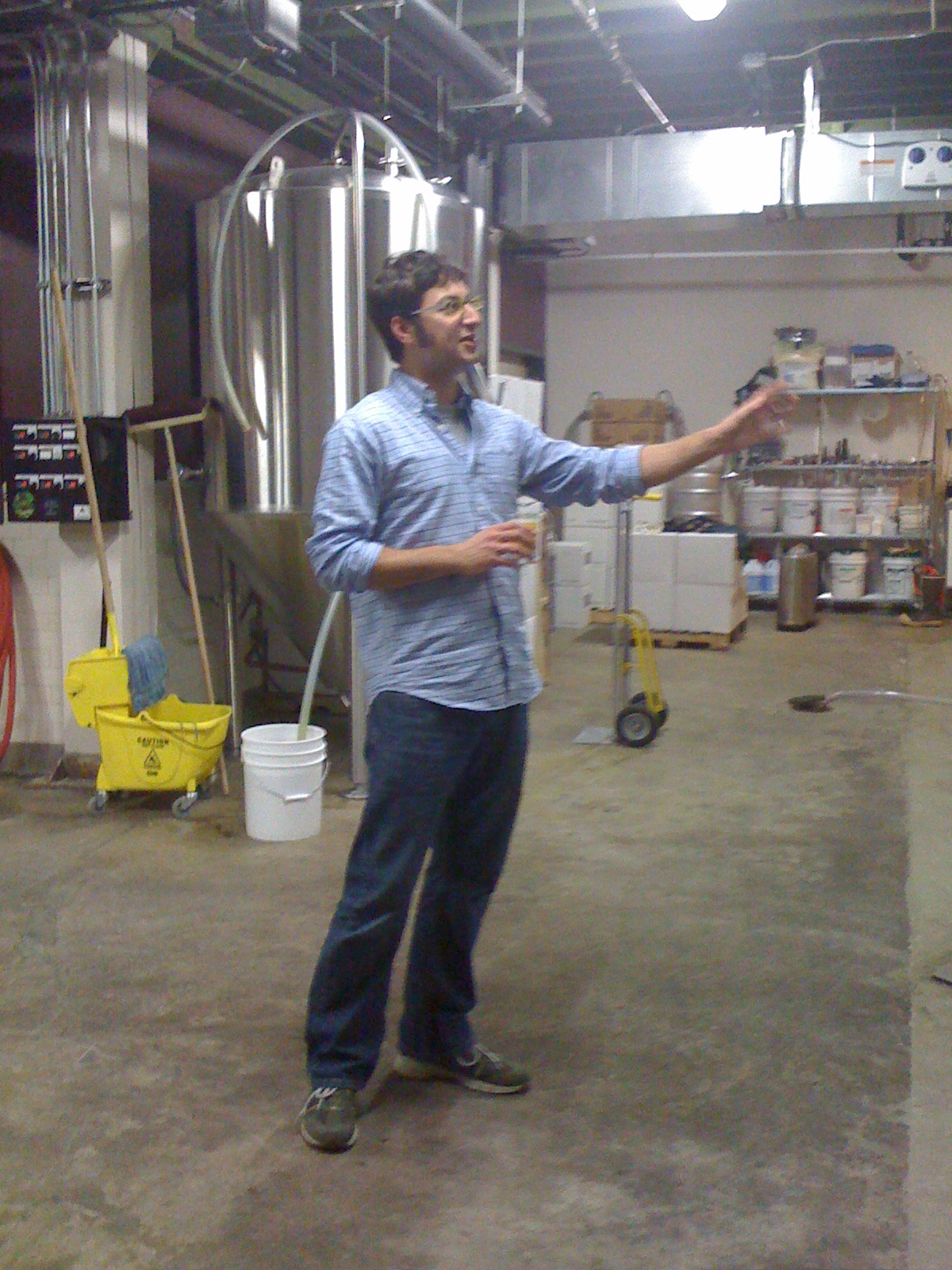Upright Brewing Alex Ganum Gives A Tour