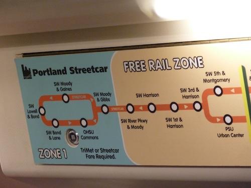 Portland Street Car Free Zone