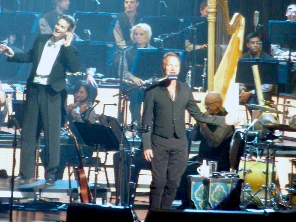 Steven Mercurio and Sting