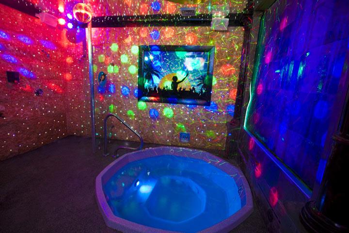 Portland Tub and Tan's Disco Room