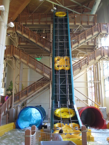 Great Wolf Lodge Four Big Slides
