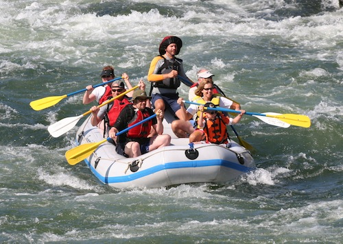 River Rafting on the Deschutes River