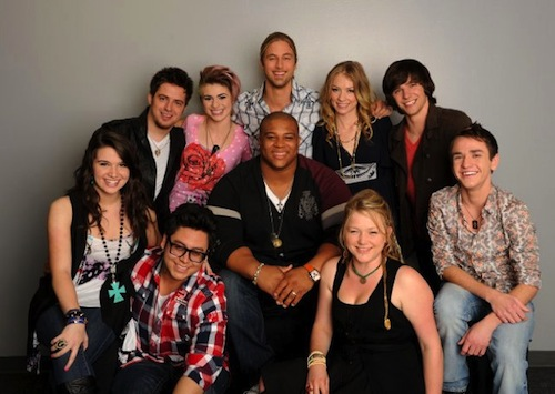 American Idol 2010 Tour Interviews