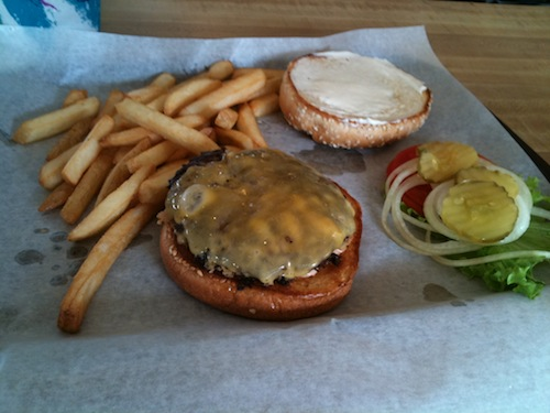 The Original Burger at Hollywood Burger Bar