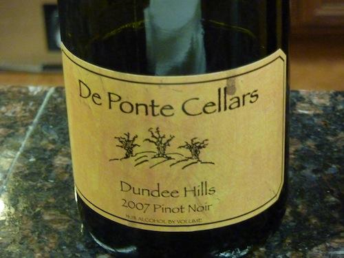 De Ponte Cellars Dundee Hills