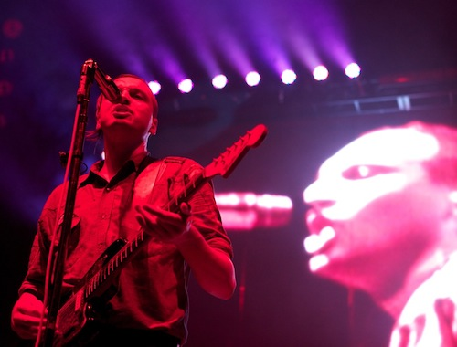 Arcade Fire's Stage Show Scaled To The Arena