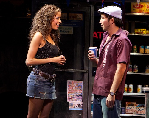 Lexi Lawson and Joseph Morales In The Heights