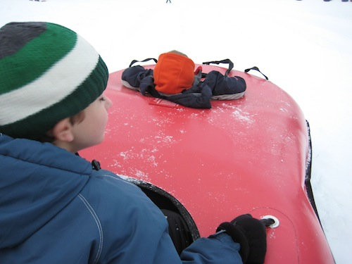 Double Inner Tube at Mt. Hood Skibowl