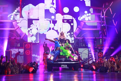 The Grand Spectacle of Britney Spears Femme Fatale Tour