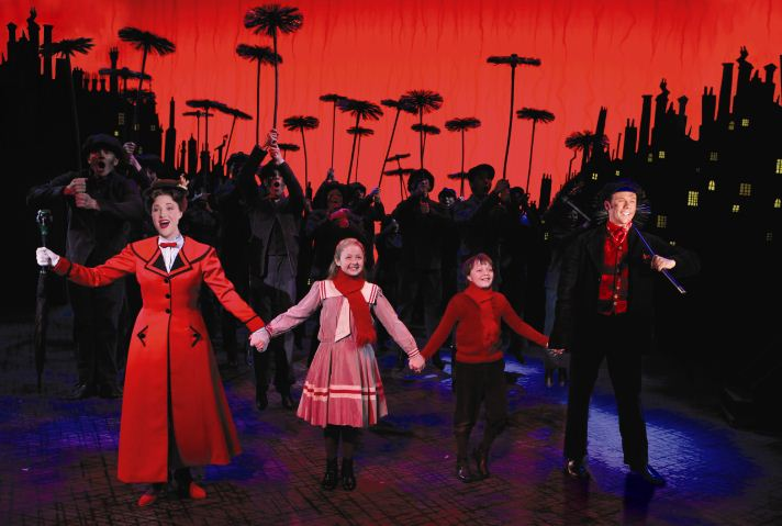 Mary Poppins Broadway Musical in Portland