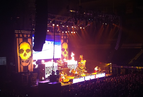 Rob Zombie in Portland Hell on Earth Tour